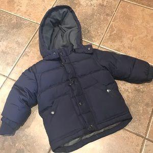 Baby Gap Navy Blue Puffer Jacket